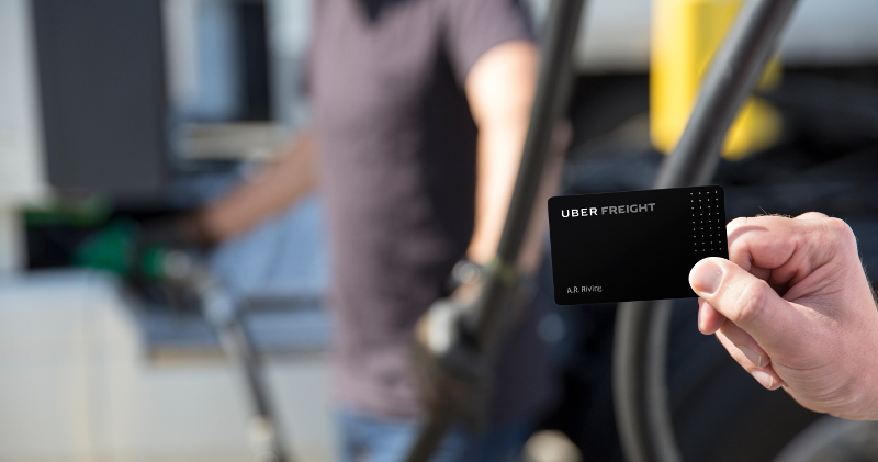 The Uber Freight Plus fuel card provides up to 20 cents off per gallon at TA/Petro fuel stations for users, who also will receive maintenance and phone discounts in the program.