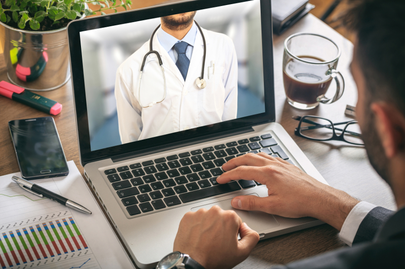 Telemedicine is a growing field, and now ONE20 has partnered with MDLive to offer members a virtual health insurance program for just $9.95 per month. ( Photo: Shutterstock )