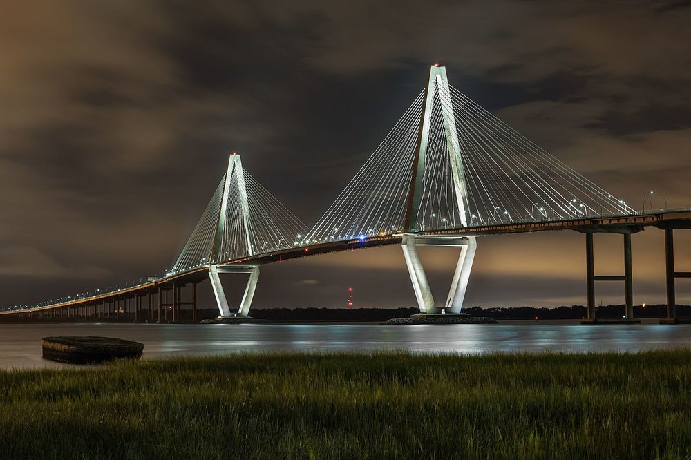 The Ravenel Bridge in Charleston, South Carolina. ( Photo: Wikimedia Commons )