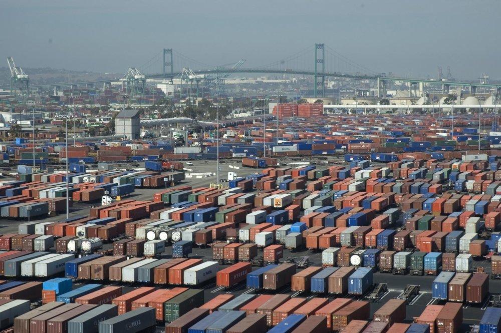 The port of long beach. ( Photo: Wikimedia Commons )