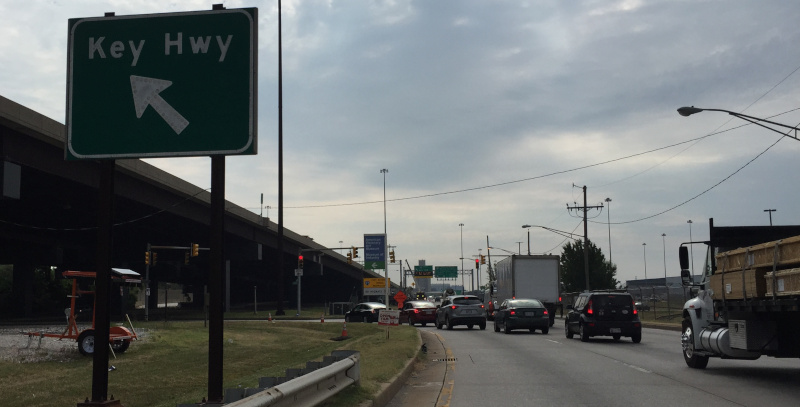 Trucks traveling in Baltimore must remain on designated truck routes. In some areas of the city, wayward trucks will now be photographed and fines sent to their owner.