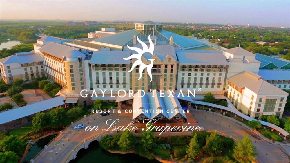 MarketWaves18 will be held at the Gaylord Texan on Lake Grapevine just north of the DFW airport in Grapevine, Texas.