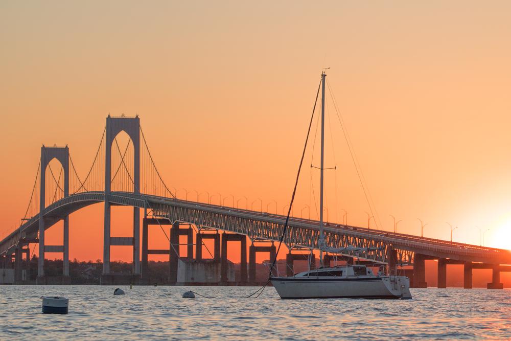 The Newport Bridge in Rhode Island. ( Photo: Shutterstock )