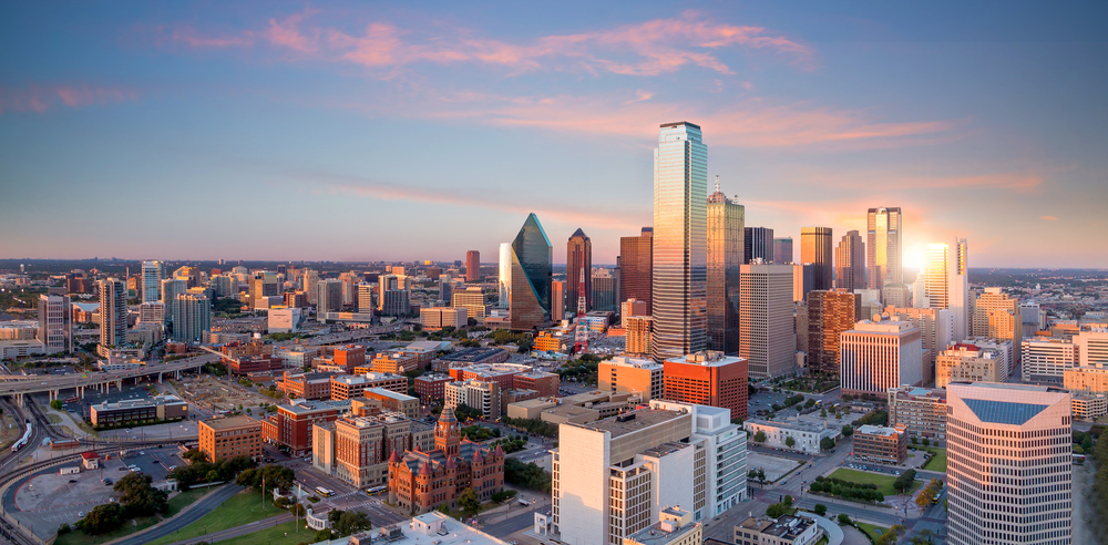 The Dallas, Texas, skyline. ( Photo: Shutterstock )