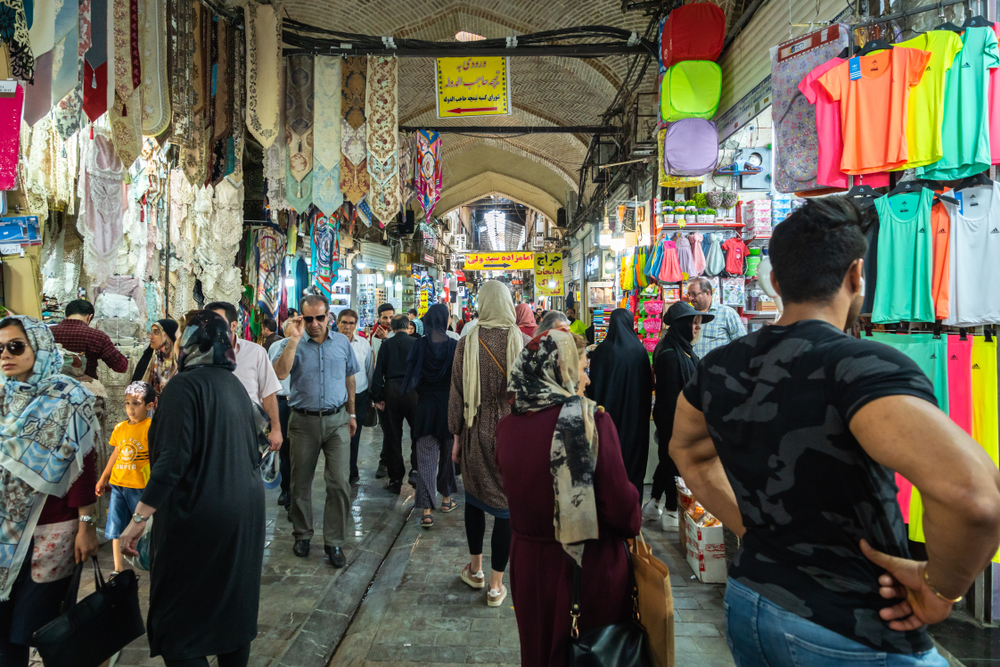 Tehran's Grand Bazaar, where merchants went on strike last week. ( Photo: Shutterstock )
