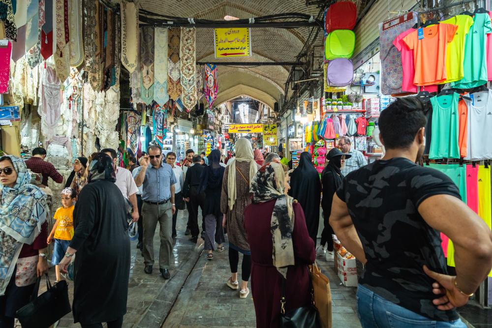 Tehran's Grand Bazaar, where merchants went on strike last week. ( Photo: Shutterstock )