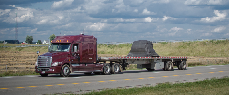 Nearly 40% of all current loads within the FR8Star network would qualify for its new Partial Load Service, which is designed to help carriers better utilize empty capacity on their flatbed trailers to increase revenue. ( Photo: Truckstockimages.com )