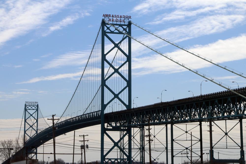 Ambassador Bridge  (Image: Shutterstock)