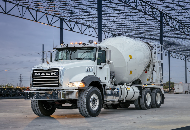 The Mack Granite, popular with construction and refuse operators, is now available with a pre-wire option for the Lytx DriveCam safety system.