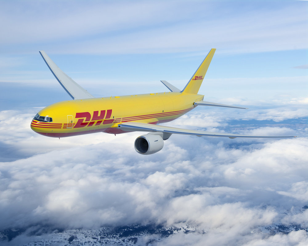 A DP DHL Boeing 777. Air freight was a stand out in the second quarter (Photo: DHL)