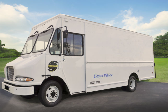 Workhorse's electric vehicles are in testing with several companies, including UPS.