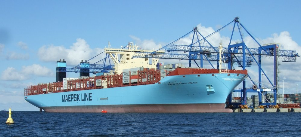 The world's largest shipping company, Maersk, says its blockchain platform is a go for wider use. ( Photo: Maersk )