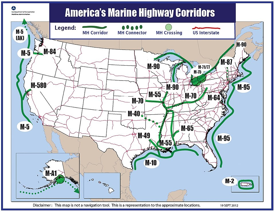 The DOT's Marine Highway System