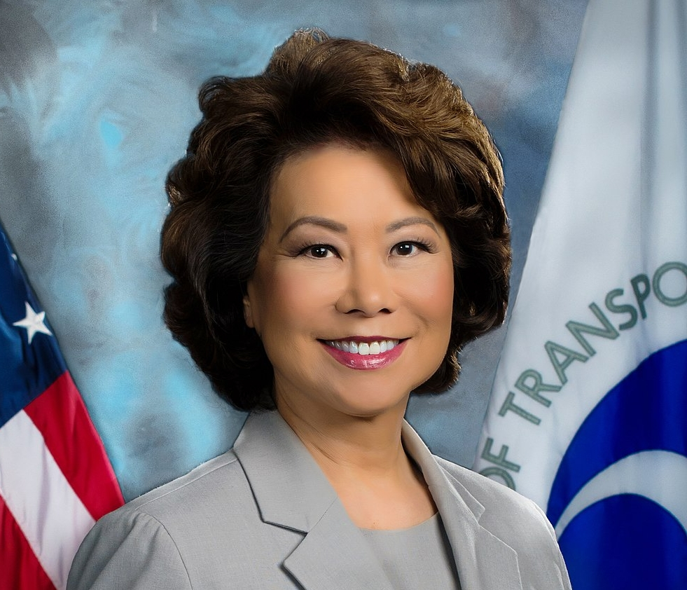 DOT's Elaine Chao says funding will increase efficiency of US transportation system. (Photo: DOT)