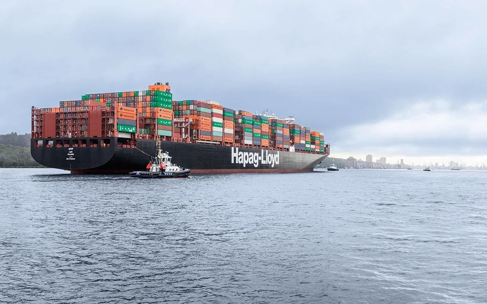A Hapag-Lloyd containership ( Photo: Hapag-Lloyd )