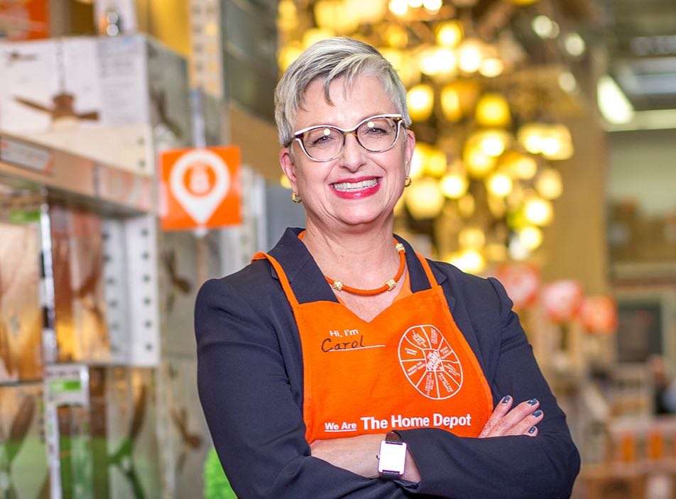 "Home Depot chief financial officer Carol Tome: ""there is a real issue in the transportation markets in our country."" ( Photo: Home Depot )"