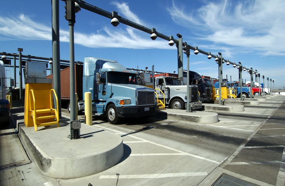 Trucks at the Port of Los Angeles. (Photo: Port of Los Angeles)