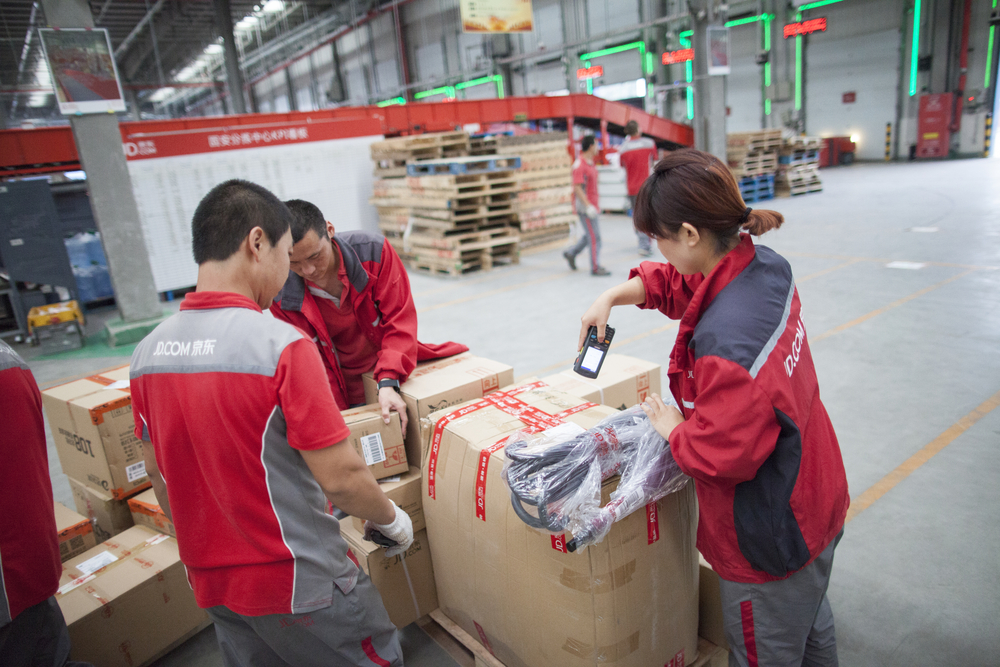 A JD.com warehouses in Gu'an, China ( Image: Shutterstock ).