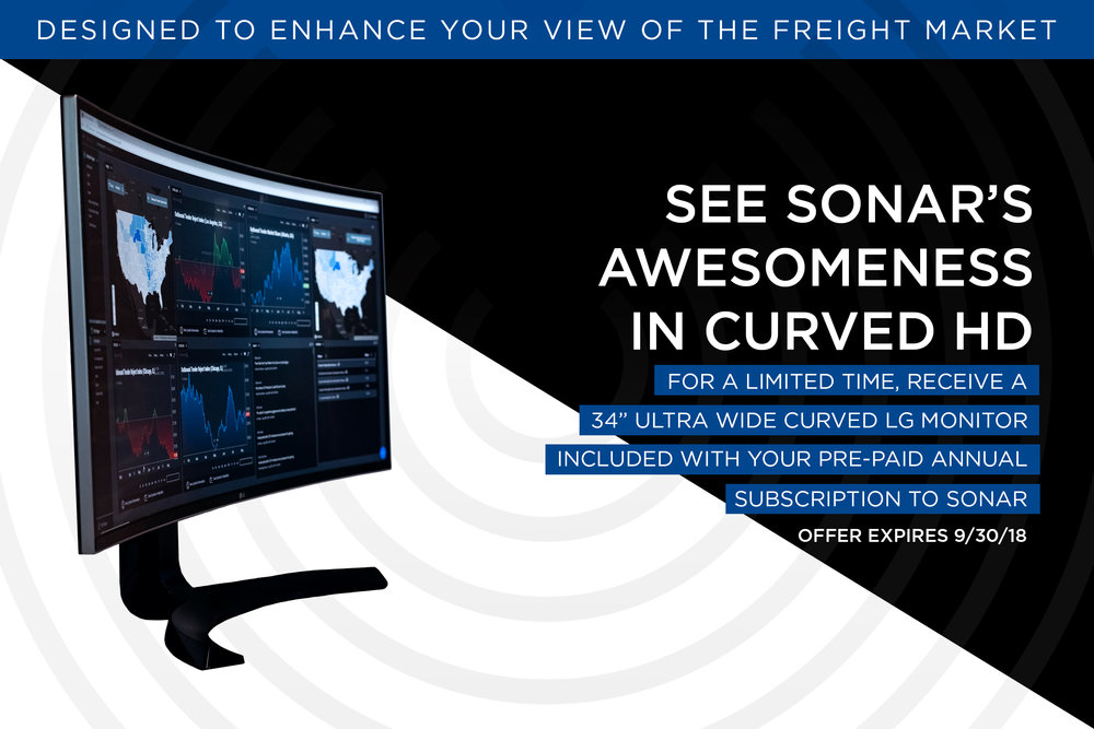 "Sign up for an annual subscription for SONAR between now and September 30, 2018 and receive a 34"" Ultra Wide Curved LG monitor"