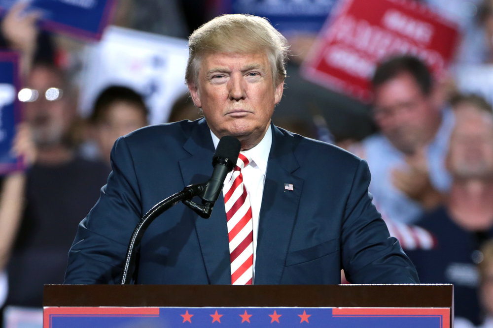President Donald Trump says the 24-year old Nafta agreement will be going away (Photo: Wikimedia Commons)