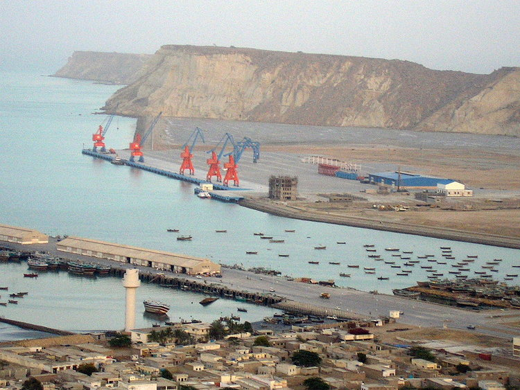 Gwadar Port in Pakistan, strategically located on the Arabian Sea. ( Photo: Wikipedia )