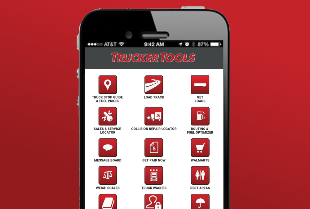 The Trucker Tools app ( Image: Trucker Tools )