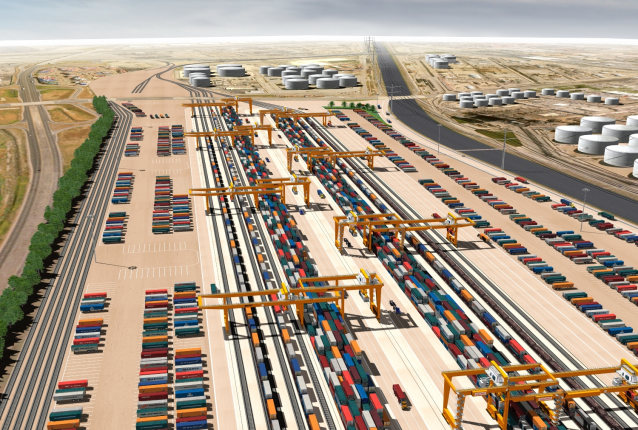 Rendering of the Gateway project (Source: Port of Los Angeles)
