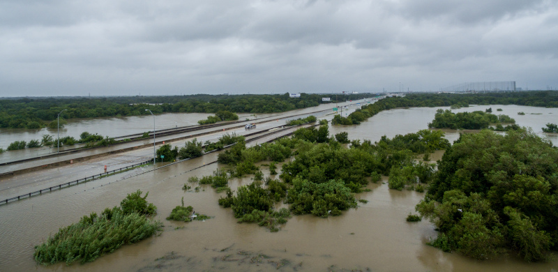 Flooding can lead to more damage and disruption of transportation systems in the days and weeks that follow landfall of a hurricane, such as the situation in Texas last year after Hurricane Harvey came ashore, than the actually storm itself. Hurricane Florence is expected to stall and dump up to 32 inches of rain on parts of North Carolina and Virginia over several days. ( Photo: Shutterstock )