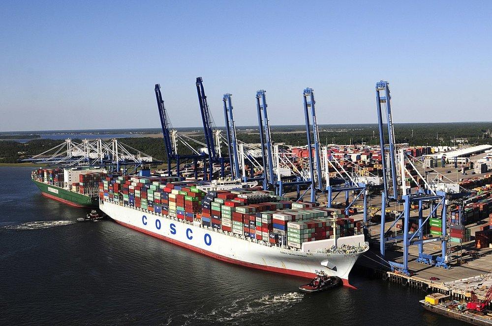 Port of Charleston. Credit: Wikipedia