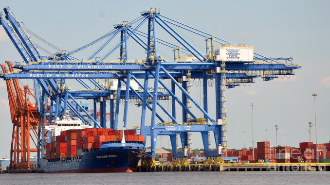 The Port of Wilmington ( Photo: NC Ports )