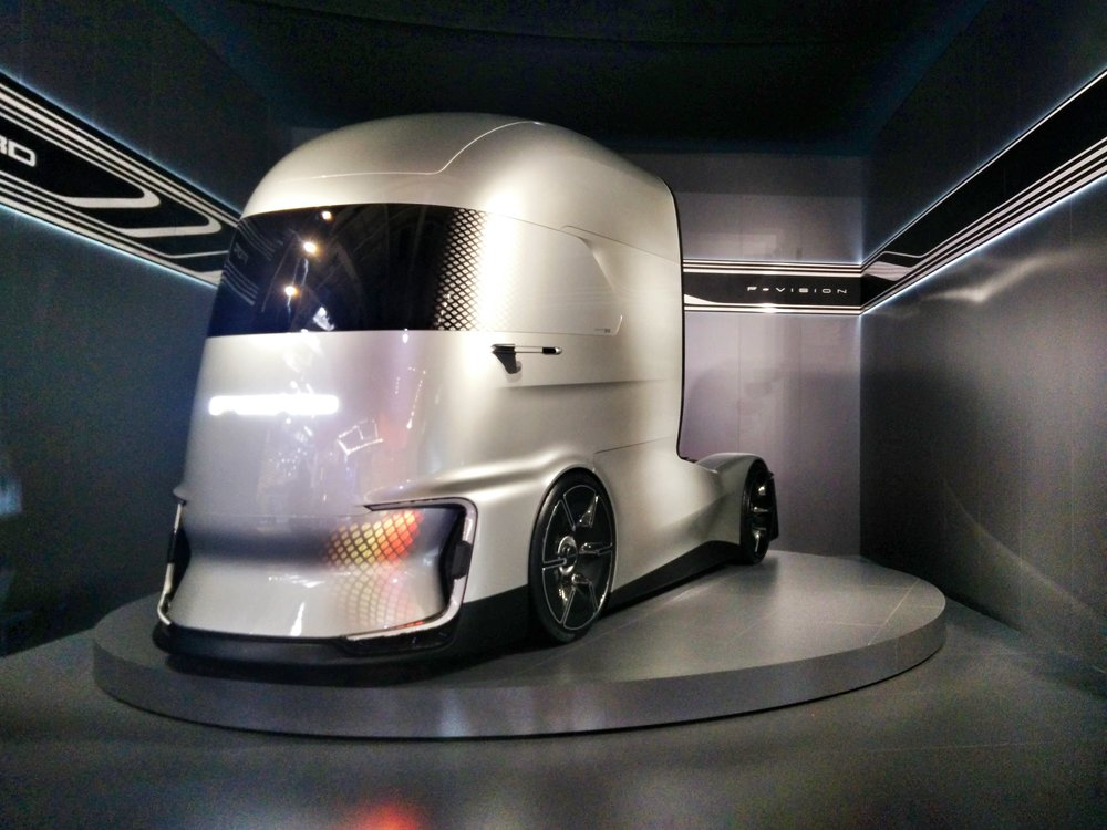 Ford F-Vision Future, a level 4 autonomous fully-electric truck