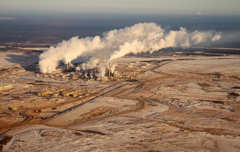 An oil sands development in northern Alberta. ( Photo: Shutterstock )