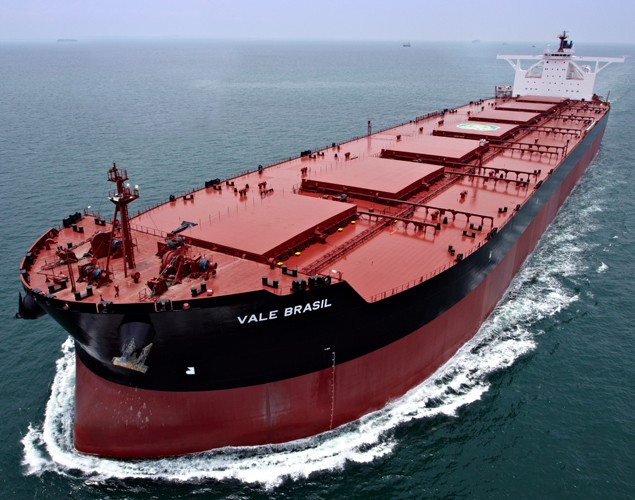 VLOC - MV Vale Brazil, the largest ore carrier in the world