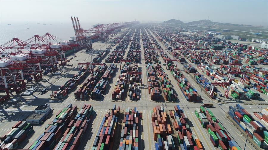Port of Shanghai - the world's busiest container port