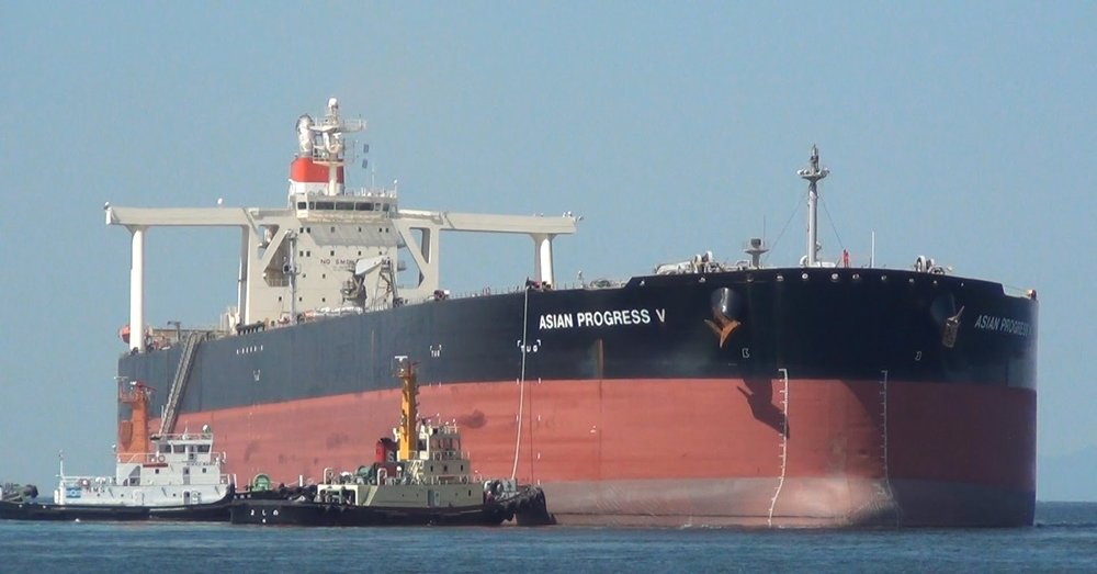 VLCCs - Very large Crude Carriers can carry 2 million barrels of crude oil