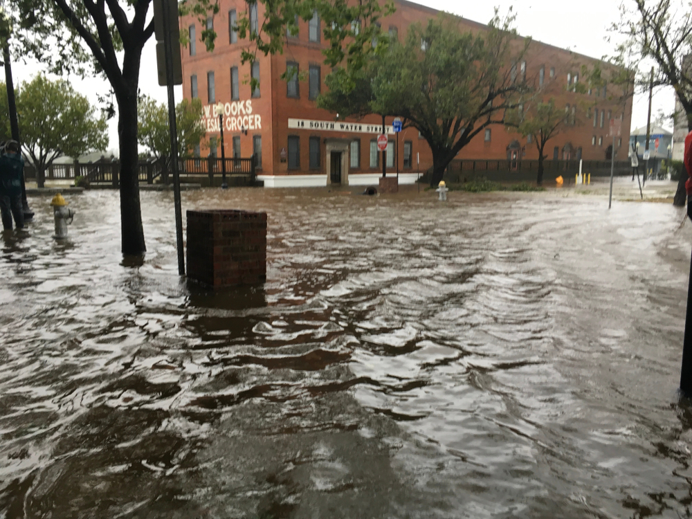 Flooding in nearby Wilmington, North Carolina earlier this month /  (Photo: Shutterstock)