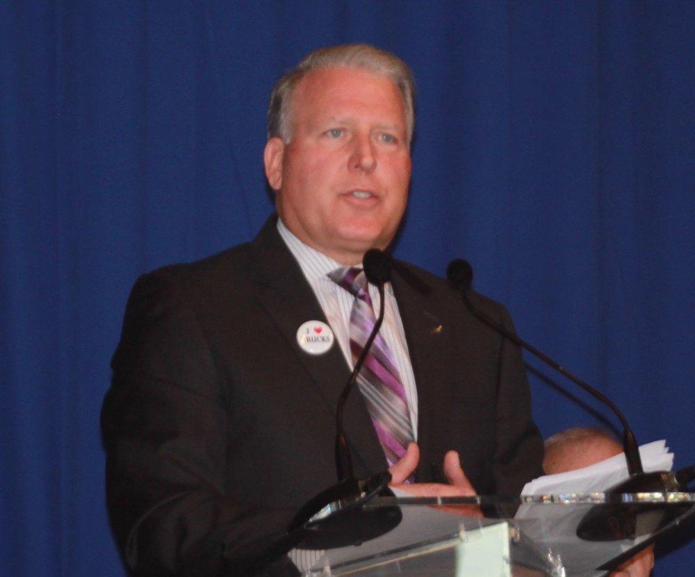 American Trucking Association chairman Dave Manning