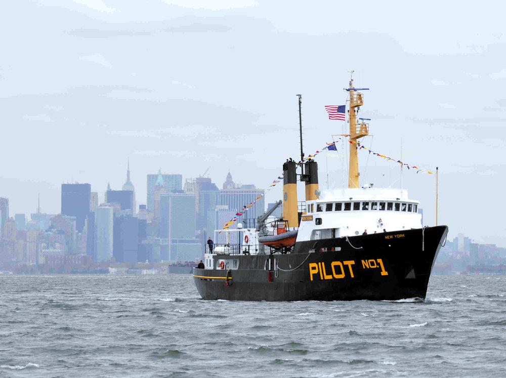 Today's pilot - New York Harbor