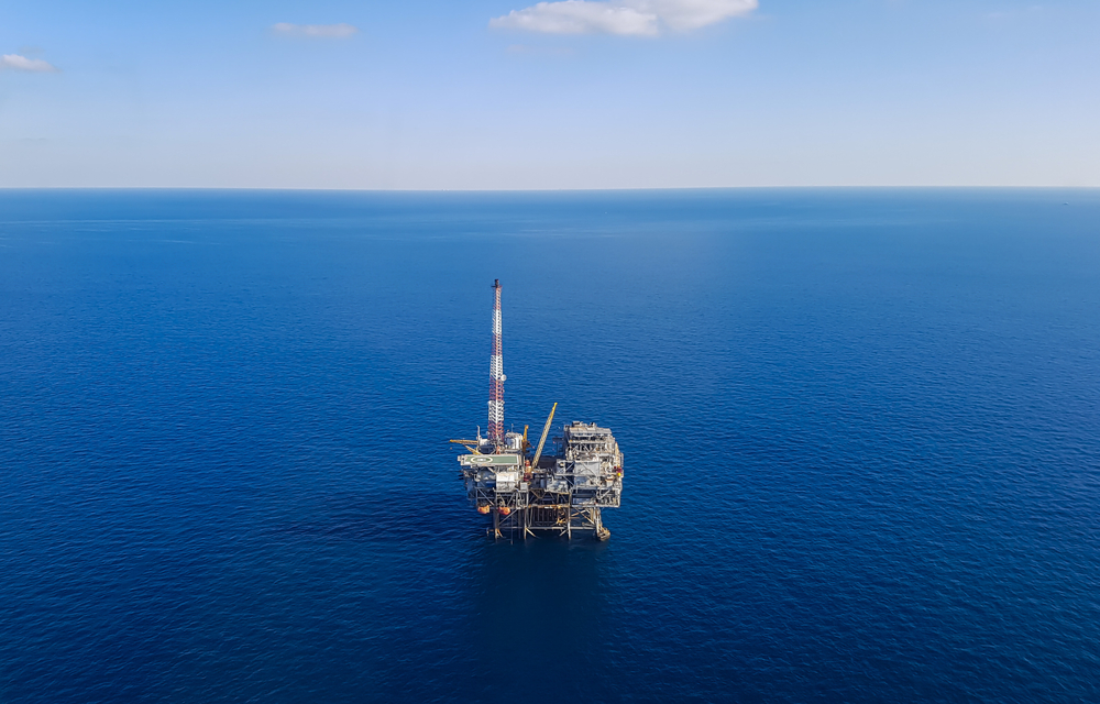 An offshore oil platform in the Gulf of Mexico. ( Photo: Shutterstock )