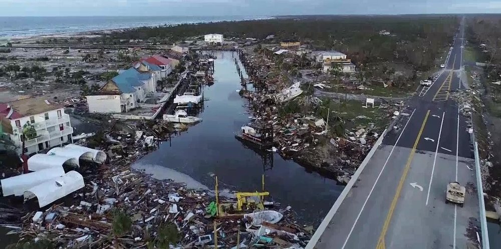 Mexico Beach, Florida after Hurricane Michael. (Photo: SevereStudios/John Humphress)