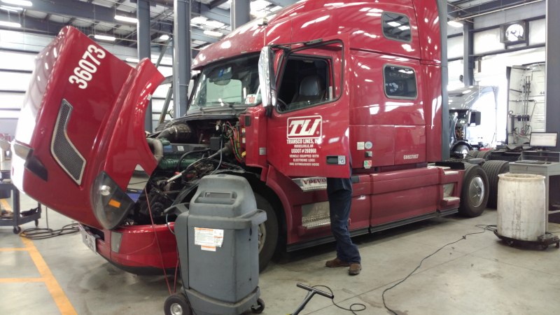 Truck repairs are inevitable, but a new solution from Uptake that utilizes Geotab sensors and artificial intelligence aims to identify problems before they become extended downtime events.