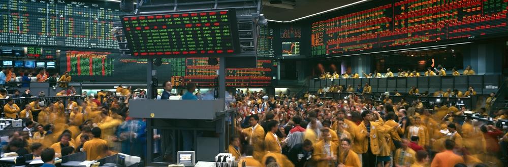 The Chicago Mercantile Exchange circa 1999. ( Photo: Shutterstock )