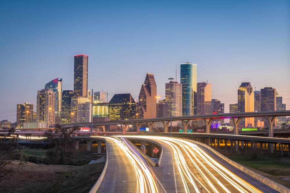 The freight surge has started to hit Houston. ( Photo: Shutterstock )