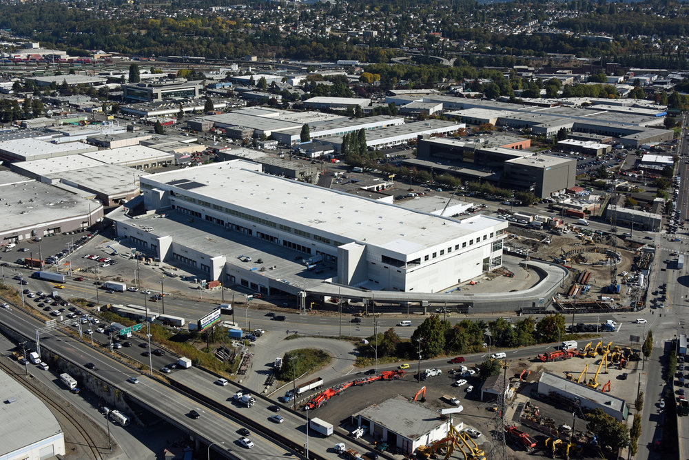 The new Prologis Seattle facility (Photo: ProLogis)