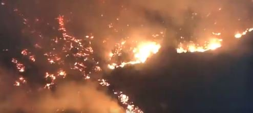 california wildfires out of control forcing evacuations and