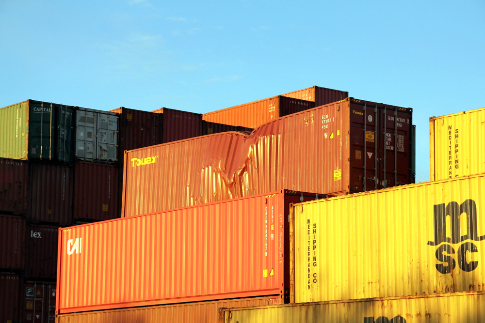Companies are paying billions each year to repair damaged containers, even when the damage is not their fault, a new survey found. ( Photo: Shuttertsock )