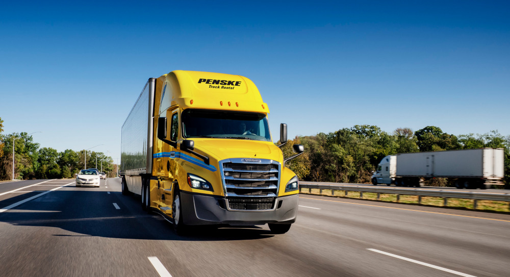 In the event a driver suffers a roadside breakdown, Penske Truck Leasing has upgraded its Penske Driver app to include the ability to summon assistance without the need to make a phone call.
