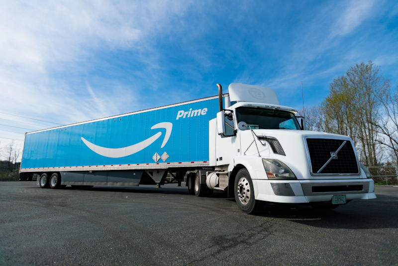 Amazon came out on top according to the judges in FreightWaves' Research Institute's inaugural Freight.Tech 25, which identified the most disruptive and innovative companies in the freight space.