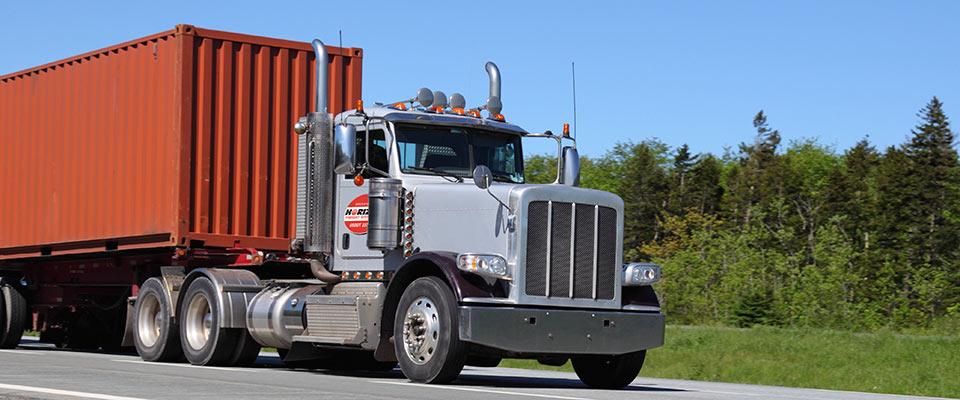 Photo: Horizon Freight home page