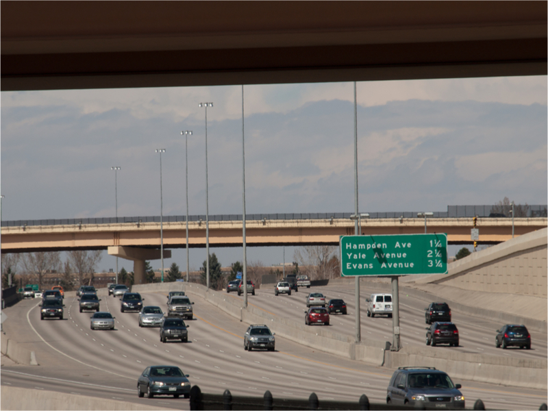 Denver traffic ( Photo: Shutterstock )
